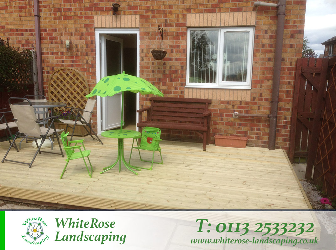 Whiterose Landscaping are decking specialists in Morley