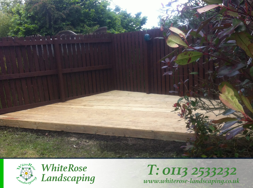 Whiterose Landscaping decking specialists in Morley Leeds
