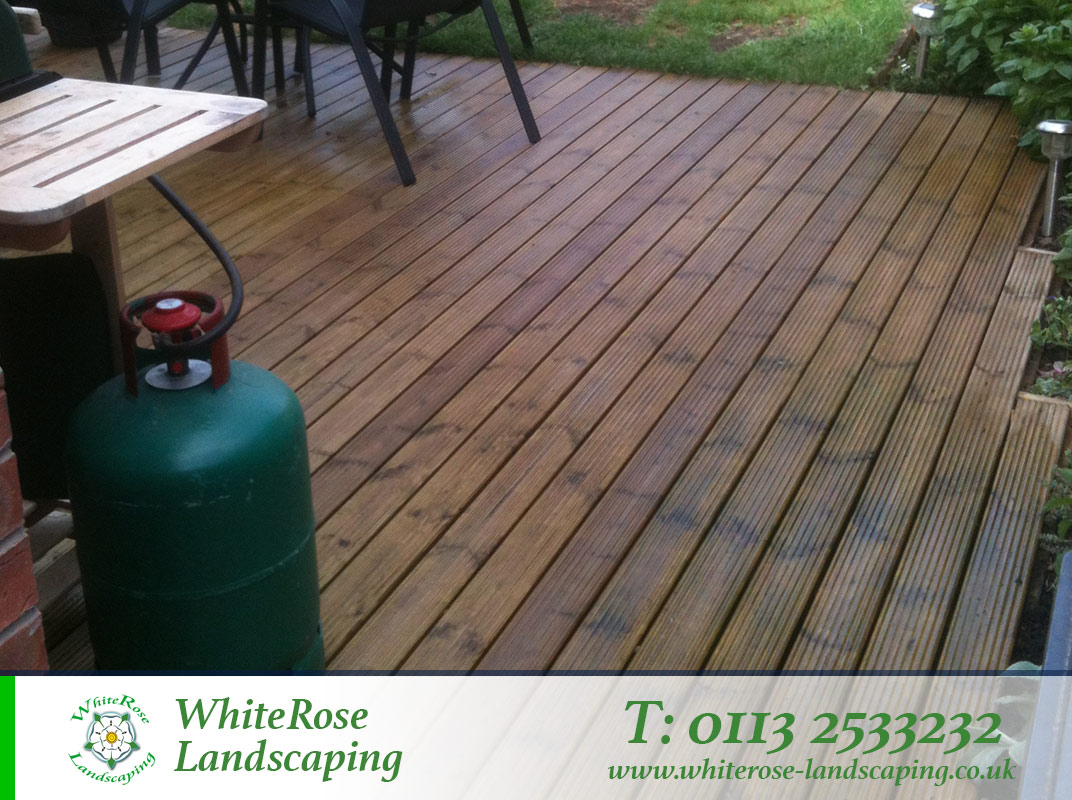 Whiterose Landscaping decking specialists in Morley