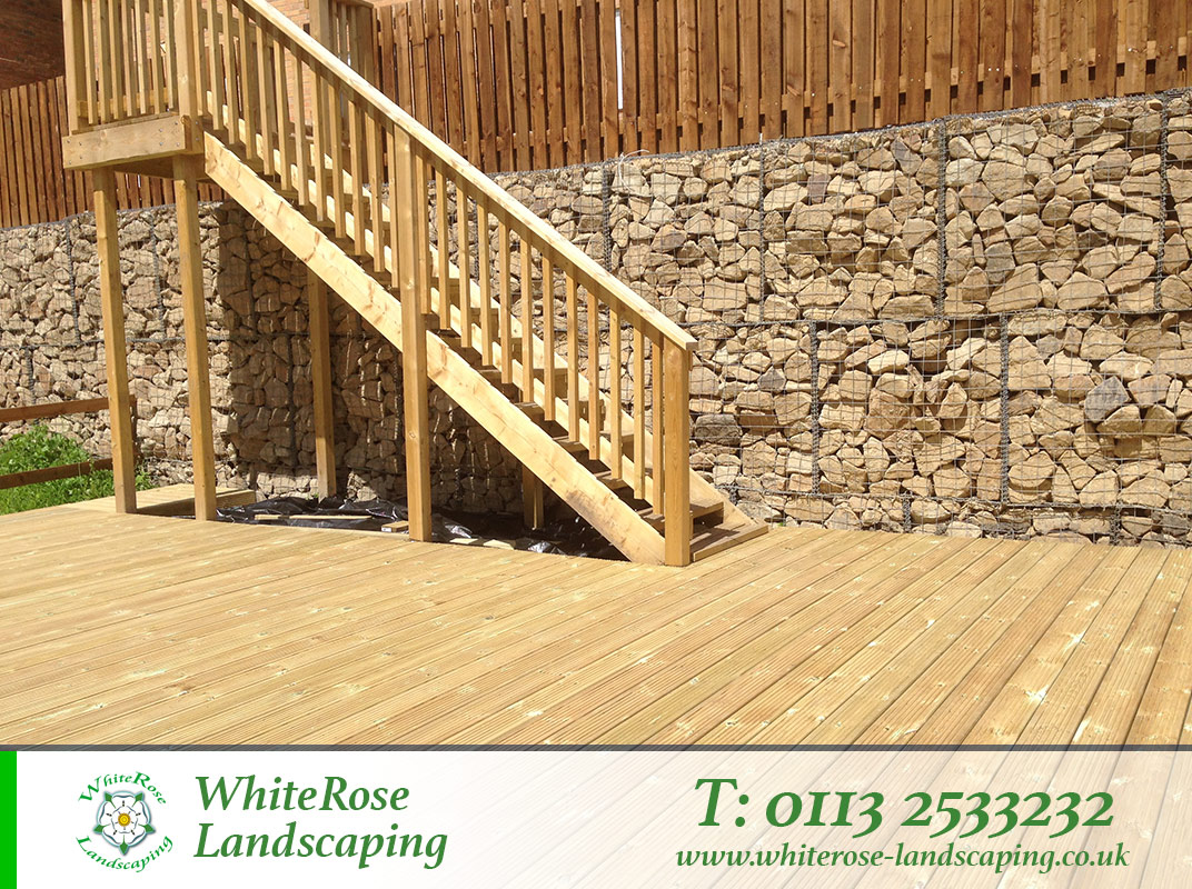 Whiterose Landscaping stunning garden decking specialists in Morley