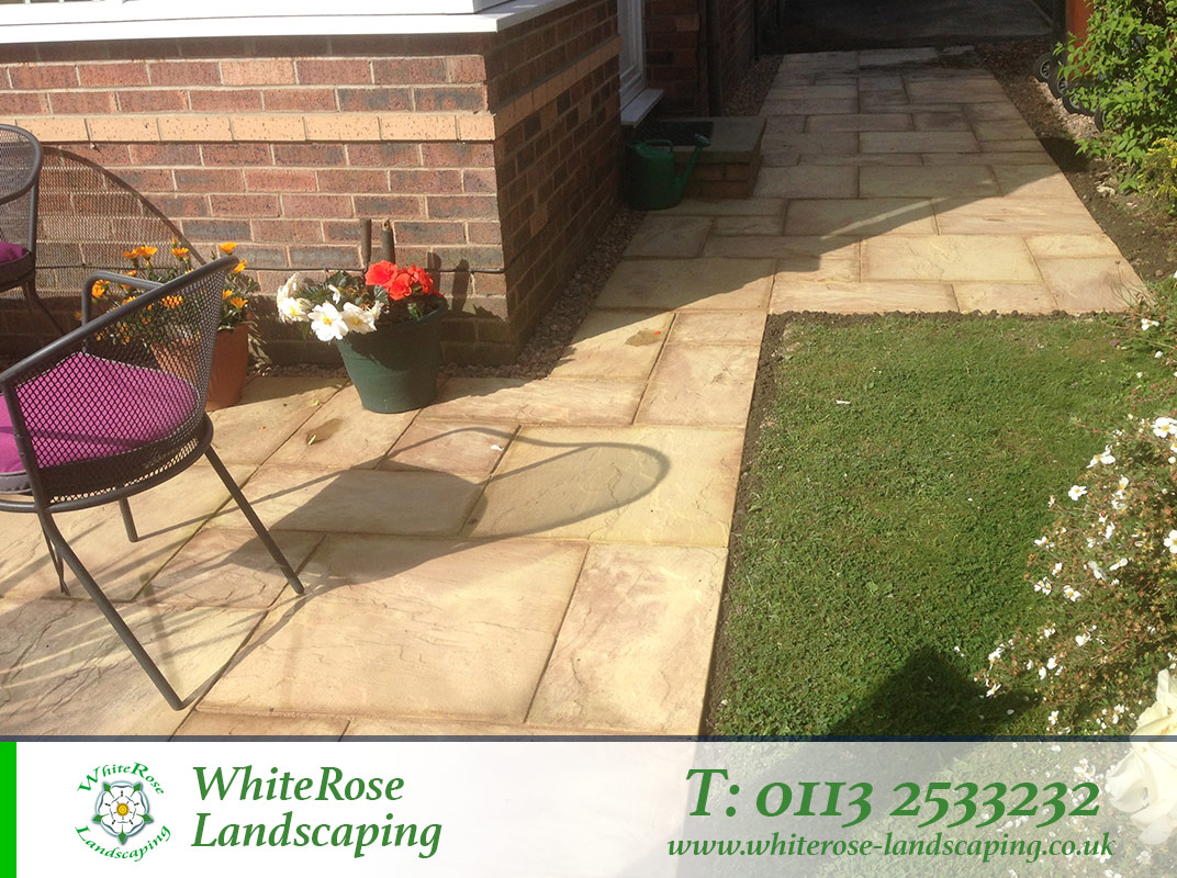 Whiterose Landscaping for brilliant paving and patios in Morley
