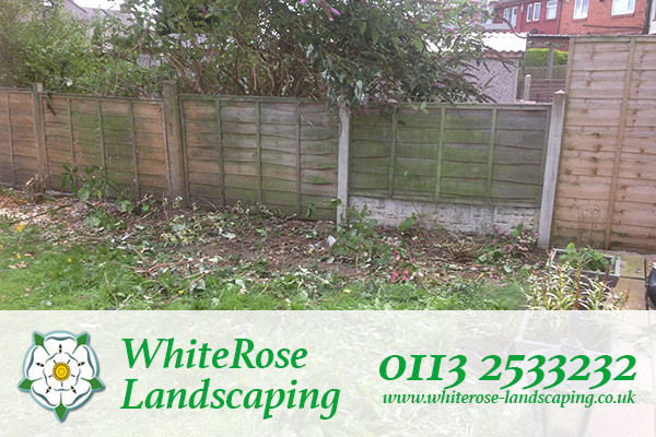 Whiterose Landscaping for garden clearance services in Morley