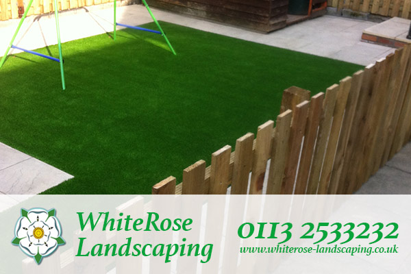 Whiterose Landscaping for high quality artificial grass supply and fitting in Morley