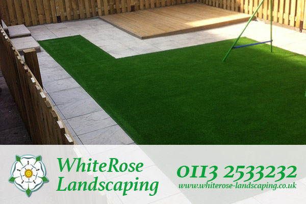 Whiterose Landscaping for premium quality artificial grass supply and fitting in Morley