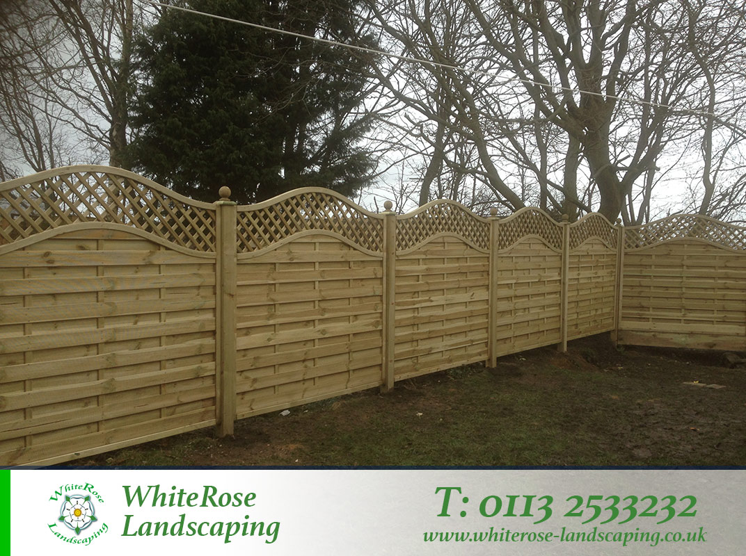 Whiterose Landscaping for stunning garden fencing specialists in Morley West Yorkshire