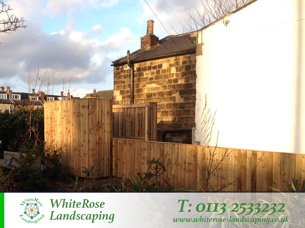 Whiterose Landscaping for stunning garden fencing specialists in Morley