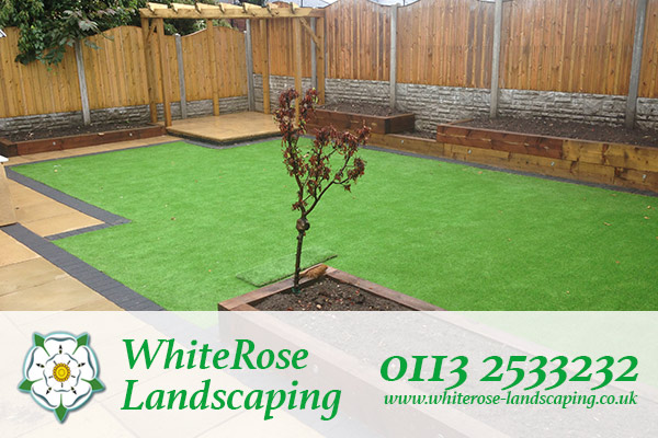 Whiterose Landscaping for the best artificial grass supply and fitting in Morley