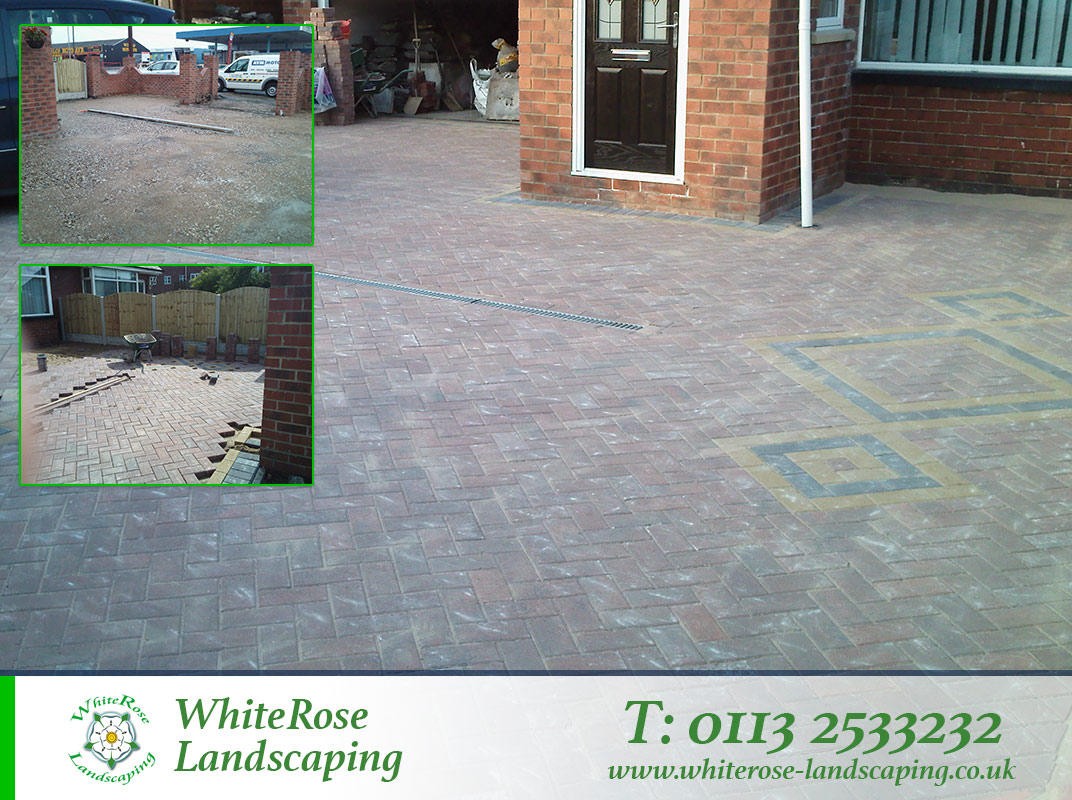 Whiterose Landscaping specialise in drives and block paving Morley West Yorkshire